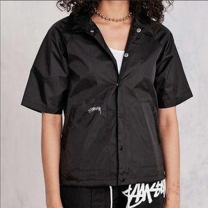 UO Stussy Coaches Jacket